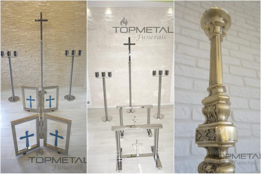 kaplice cmentarne wyposażenie