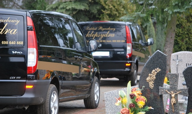 usługi pogrzebowe piła