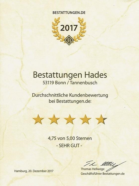 opinie Hades Bonn Niemcy